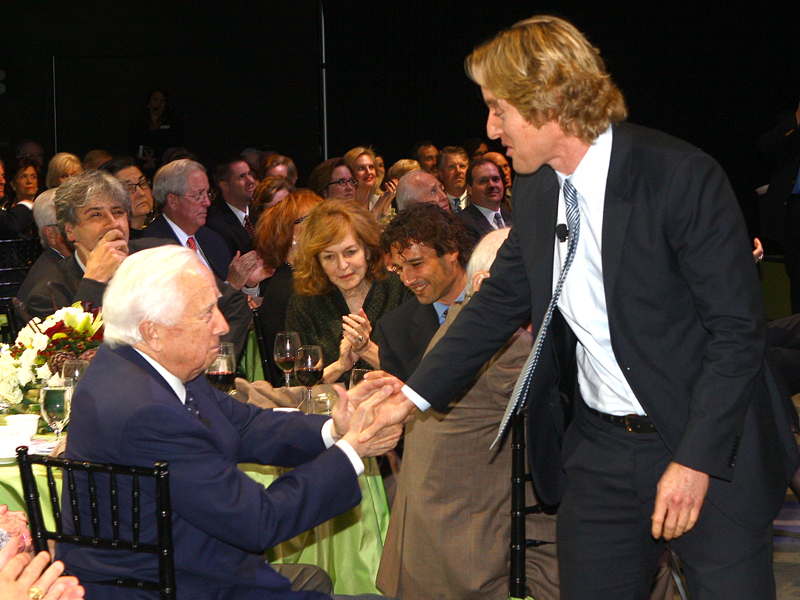 David McCullough and Owen Wilson