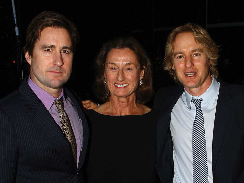 Luke Wilson, Laura Wilson and Owen Wilson