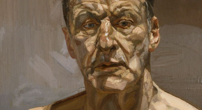 Lucian Freud Reflection (Self-portrait), 1985 Private Collection, Ireland © The Lucian Freud Archive Image copyright: Courtesy Lucian Freud Archive