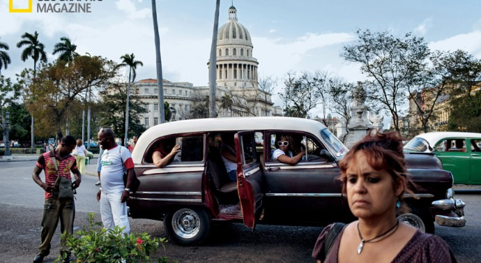 Until the 1959 ouster of dictator Fulgencio Batista, Cuba's legislature convened in the domed Capitolio building in Havana. Today it's a symbol of a prerevolutionary Cuba that no one under the age of 50 experienced. © Paolo Pellegrin/National Geographic