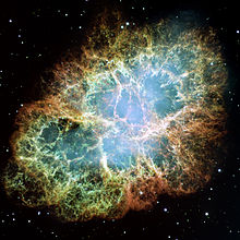 Crab Nebula (image courtesy Wikipedia)