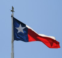 Texas Flag at Veterans' Memorial Park, Port Arthur, Texas
