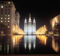 The Church of Latter Day Saints in Salt Lake City, Utah
