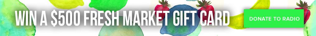 Fresh Market Banner