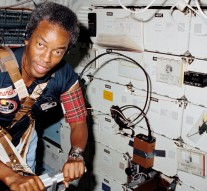 Guion S. Bluford, Jr., the first African-American astronaut in space