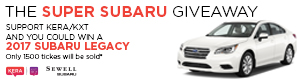 The Super Subaru Giveaway 2017