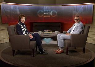 M. Mansoor Ahsan, CEO of Bridgefarmer & Associates, speaks with Lee Cullum