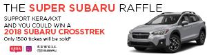 The Super Subaru Raffle 2018