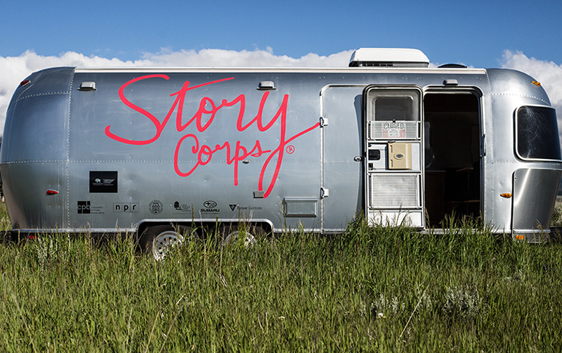 StoryCorps MobileBooth Exterior